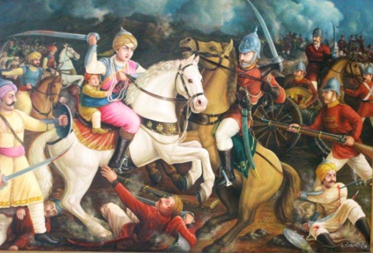 1857 क्रान्ति और रानी लक्ष्मीबाई