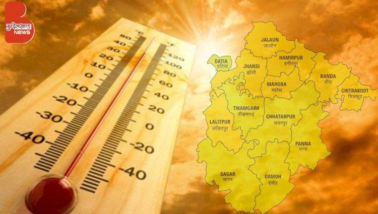 बुन्देलखण्ड में आसमान से बरसी आग भीषण गर्मी से लोग घरों में दुबके