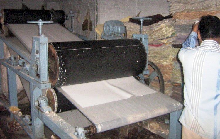 कालपी का विश्व प्रसिद्ध हाथ कागज उद्योग