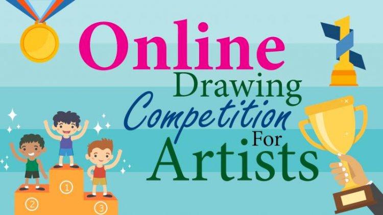 चित्रकला-पोस्टर आँन लाइन प्रांतीय प्रतियोगिता में जालौन के सुयश राज व लखनऊ के कार्तिकेय ने बाजी मारी