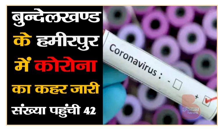 हमीरपुर में कोरोना संक्रमित मरीज की संख्या में आया उछाल