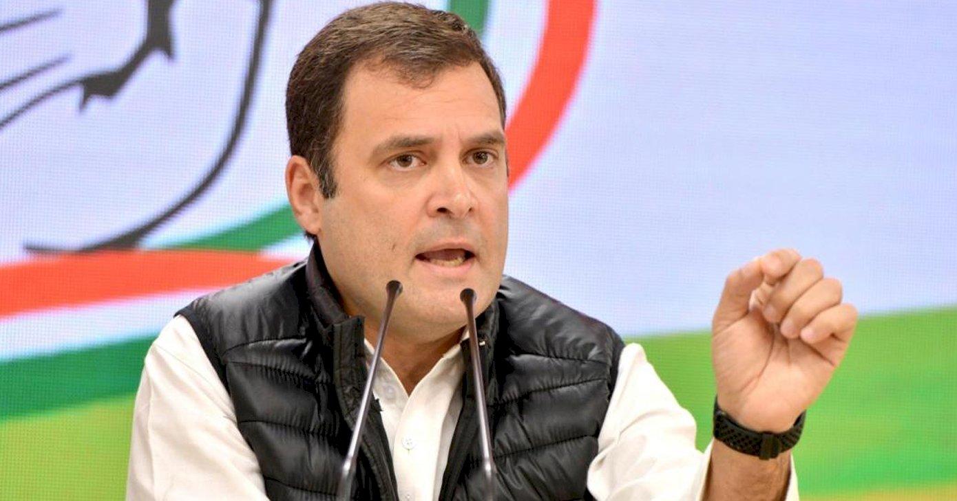राहुल का केंद्र पर तंज, कहा- '20 लाख का आंकड़ा पार, गायब है मोदी सरकार'