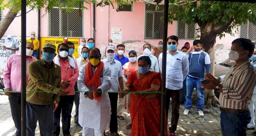 संचारी रोग माह का विधायक ने फीता काटकर किया शुभारंभ