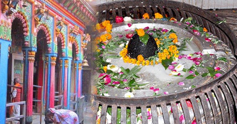 शिवभक्त पांच-पांच की संख्या में नागेश्वर नाथ मंदिर में अर्पित कर रहे हैं 'जल'