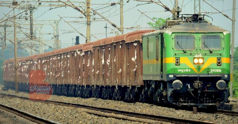 पश्चिम रेलवे : 9242 मालगाड़ियों से 18.87 मिलियन टन माल का परिवहन