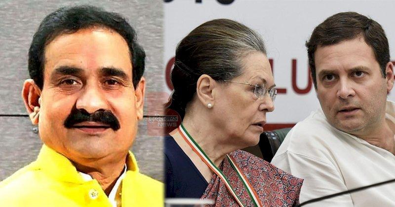 नरोत्तम का कांग्रेस पर तंज, कहा- गांधी परिवार के अलावा कोई और कांग्रेस अध्यक्ष नहीं बन सकता