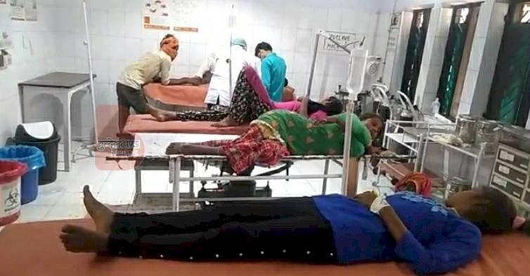 हमीरपुर : सुमेरपुर क्षेत्र के एक होटल में समोसा खाने से 13 बच्चे समेत 28 लोग बीमार