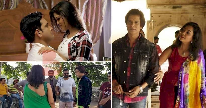 महोबा के चरखारी में चल रही हिंदी हॉरर फिल्म प्रेमातुर की शूटिंग