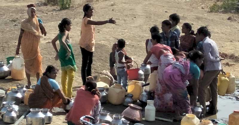 हमीरपुर में 63 गांवों में पेयजल की भारी किल्लत