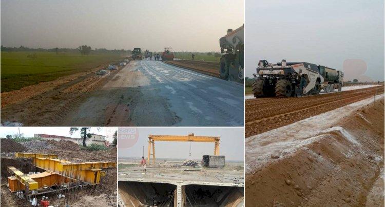 बुंदेलखंड एक्सप्रेसवे औद्योगिक कॉरिडोर के रूप में होगा विकसित, निर्माण कार्य ने पकड़ी रफ़्तार