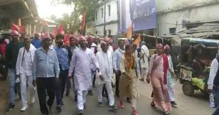 कमेरा समाज को जगाने के लिए पदयात्रा पर निकली हूंः पल्लवी पटेल