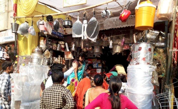 धनतेरस : कोरोना संक्रमण काल में भी सर्राफा बाजार गर्म
