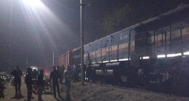 Jbalpur Kanpur trains   derailment in bhimsen kanpur
