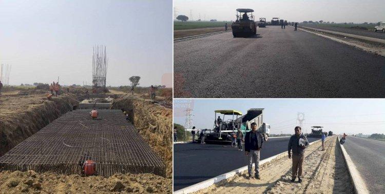 पांच माह पहले फरवरी तक पूरा हो जाएगा, बुंदेलखंड एक्सप्रेस-वे का 35 प्रतिशत निर्माण पूरा