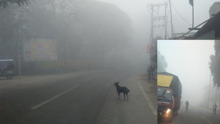 हमीरपुर में बढ़ी ठंड, पारा 6 डिग्री सेल्सियस नीचे लुढ़का