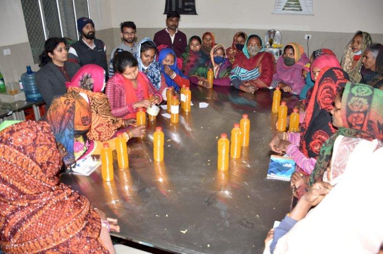 बुंदेलखंड की महिला किसानों की आय दोगुनी करने को सात दिवसीय प्रशिक्षण