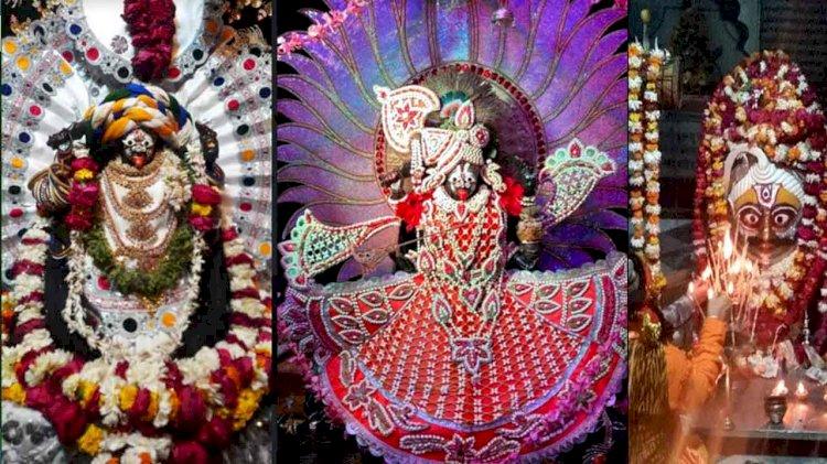 पूरे विश्व में एक ऐसा मंदिर जहां महाकाली कृष्ण स्वरूप में पूजी जाती है, लगाया जाता तुलसीदल भोग