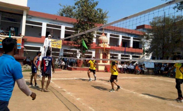 वॉलीबॉल में बजरंग इंटर कॉलेज, कबड्डी में स्टेडियम बना विजेता