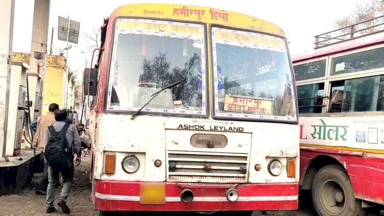 हमीरपुर डिपो बस में संदिग्ध परिस्थितियों में मिला शव