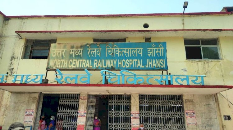 jhansi ncr, north central railway jhansi, jhansi corona news