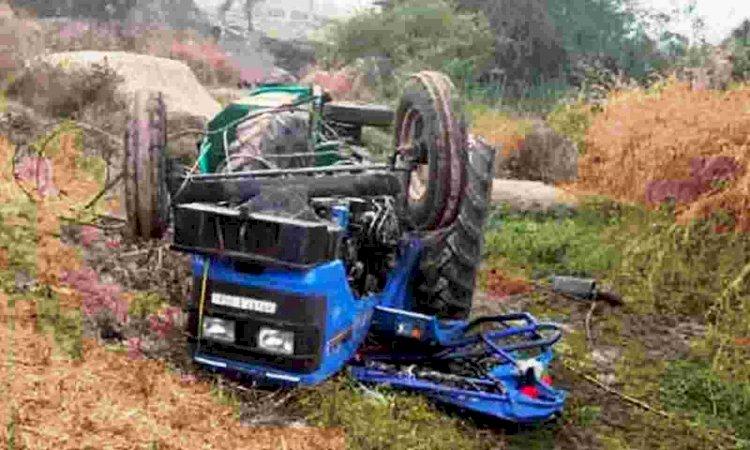 हमीरपुर में बडा हादसा, तीन मजदूरों की मौके की मौत, कई घायल