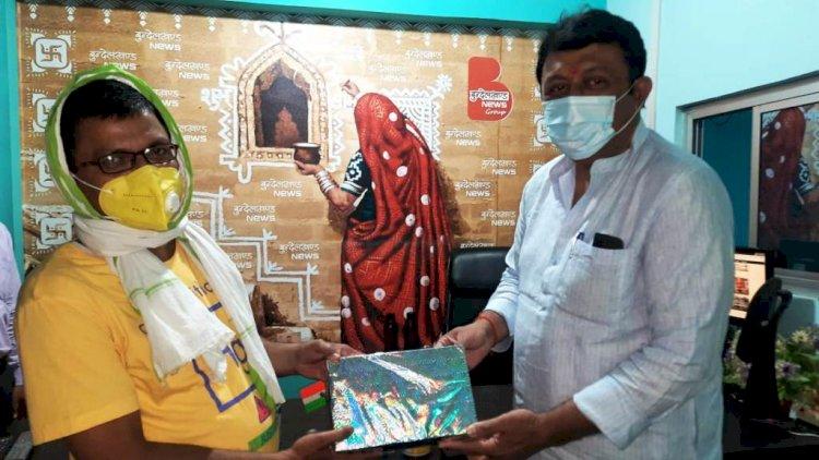 बुन्देलखण्ड न्यूज द्वारा आयोजित प्रतियोगिता खेलो और जीतो के प्रथम विजेता बने कुलदीप शुक्ला