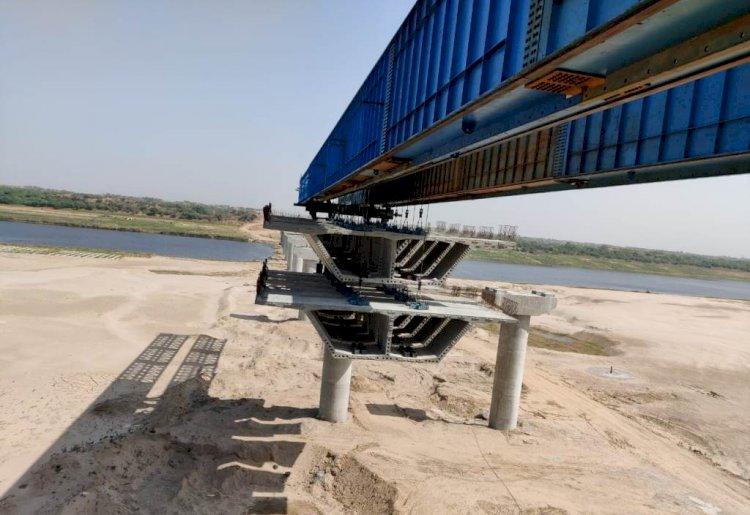 bundelkhand expressway news, bundelkhand expressway yamuna bridge construction latest news