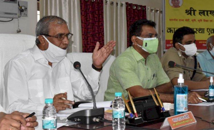 गोल्डन कार्ड गरीब एवं पात्र व्यक्तियों के ही बनाये जायें : कृषि राज्यमंत्री