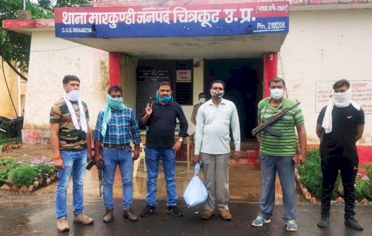 चित्रकूट : डकैत गौरी यादव गैंग का सक्रिय सदस्य गिरफ्तार