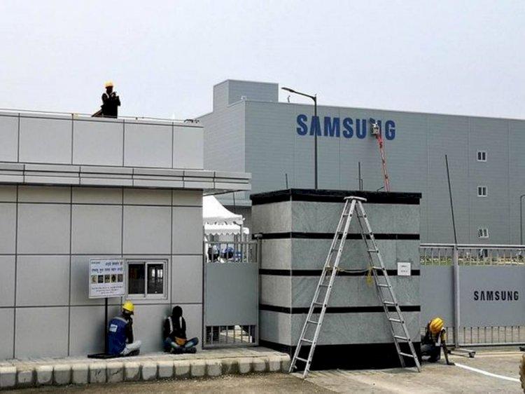सैमसंग ने चीन से हटाकर नोएडा में लगाई अपनी डिस्प्ले मैन्युफैक्चरिंग यूनिट