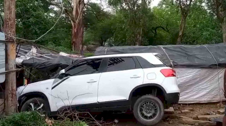 car accident in banda, bundelkhand news banda