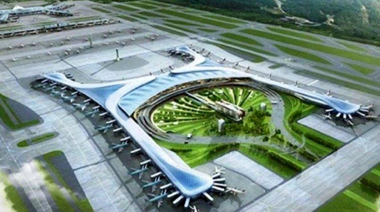 नोएडा इंटरनेशनल एयरपोर्ट, भारत में एक आधुनिक एवं विश्वस्तरीय एयरपोर्ट का बेंचमार्क होगा - मुख्यमंत्री योगी आदित्यनाथ
