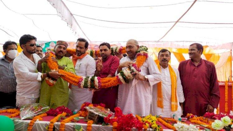 ब्लाक प्रमुख रामनगर का शपथ ग्रहण समारोह हुआ संपन्न