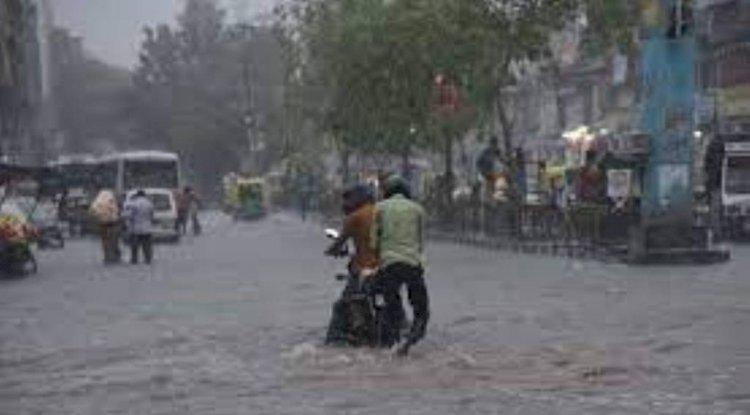 उत्तर प्रदेश में तेज बारिश