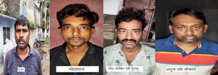कानपुर में नकली शराब बनाकर उप्र के 20 जिलों में की जा रही थी सप्लाई, चार गिरफ्तार