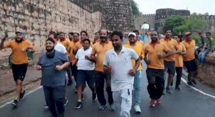 टोक्यो में भारतीय खिलाड़ियों के उत्साहवर्धन के लिए भाजयुमो ने किया 'चीयर फॉर इंडिया' का आयोजन