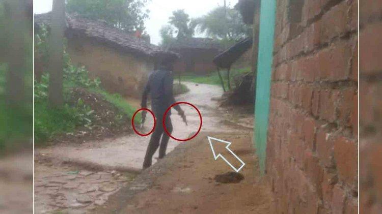 बाँदा : तमंचा लेकर घूम रहे युवक का फोटो वायरल पुलिस ने किया गिरफ्तार