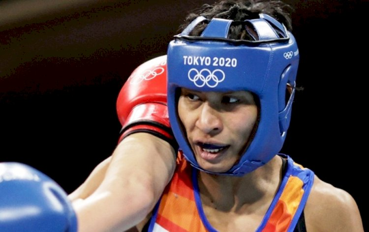 मुक्केबाजी में हारकर भी लवलीना ने रचा इतिहास, भारत को दिलाया तीसरा पदक