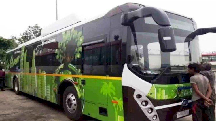 इलेक्ट्रिक बसें (electric buses in up) upsrtc