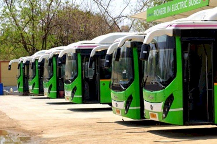 झांसी, लखनऊ और कानपुर सहित यूपी के सात शहरों के लिए, 150 इलेक्ट्रिक बसों को पीएम मोदी करेंगे रवाना