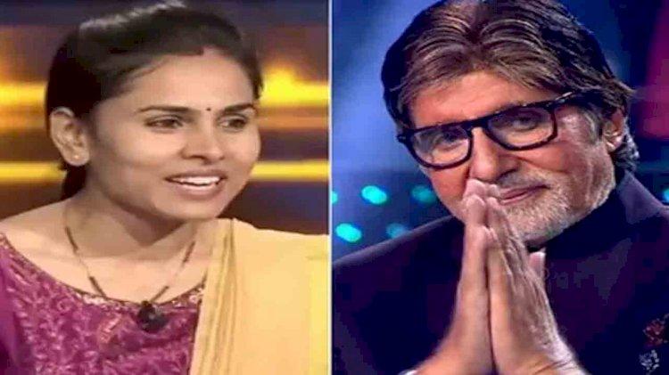 nimisha ahirwar kbc 13 contestants, amitabh bachchan kbc sony