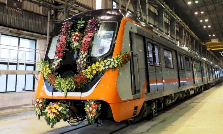 गुजरात से कानपुर आ रही पहली प्रोटोटाइप मेट्रो ट्रेन, जनवरी 2022 में जनता को मिलेगी सौगात