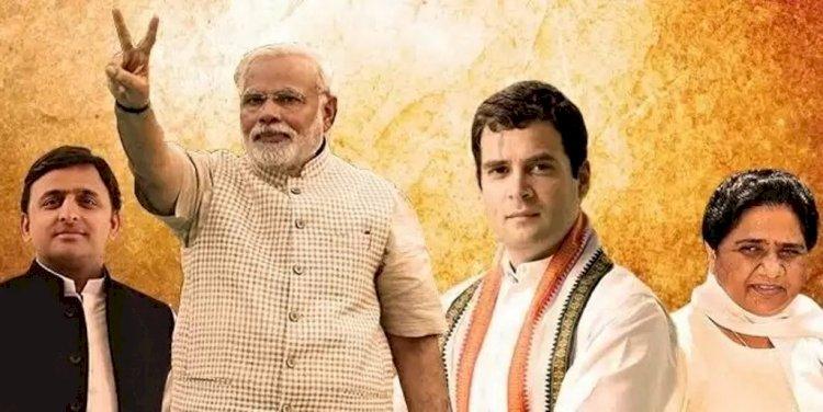 उप्र की राजनीति : भाजपा की गेंद पर खेलने की कोशिश में उलझता जा रहा विपक्ष