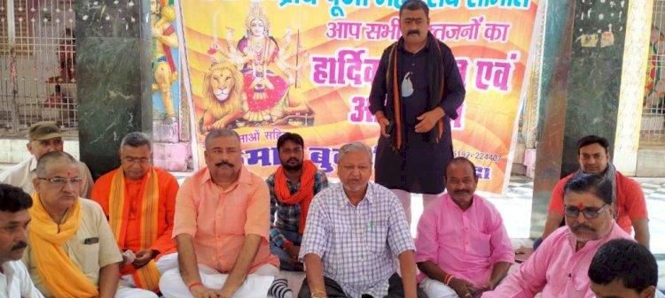 गाइडलाइन के तहत केंद्रीय पूजा महोत्सव समिति ने, दुर्गा महोत्सव मनाने की रणनीति बनाई