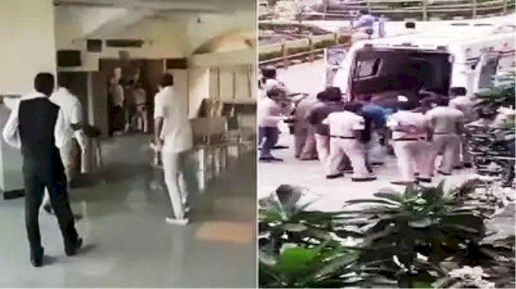 दिल्ली की कोर्ट में वकील की ड्रेस पहने हमलावरों ने चलाई गोली, बदमाश व दो हमलावर ढेर