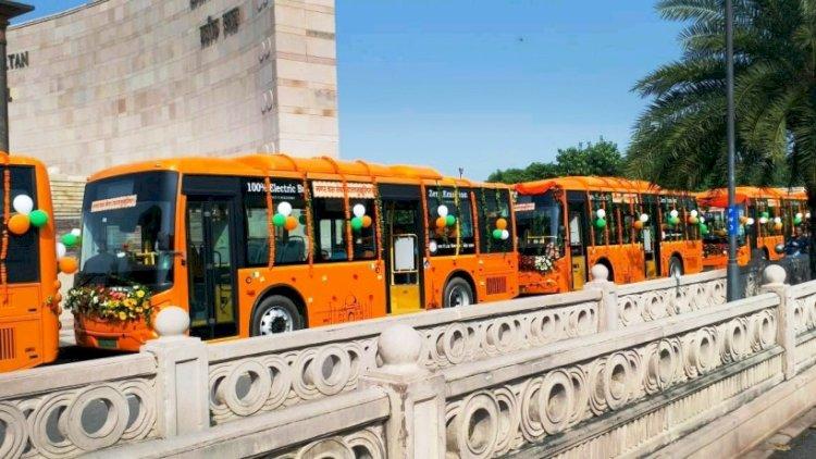 इलेक्ट्रिक बसों (electric buses)