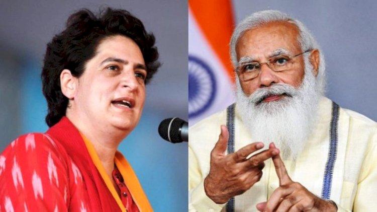 प्रियंका गाँधी को प्रधानमंत्री नरेंद्र मोदी  के स्वच्छ भारत अभियान में शामिल होने के लिए धन्यवाद