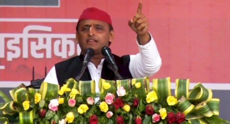 घाटमपुर पावर प्लांट सपा सरकार की देन, किसानों को मिलेगी मुफ्त बिजली : अखिलेश यादव